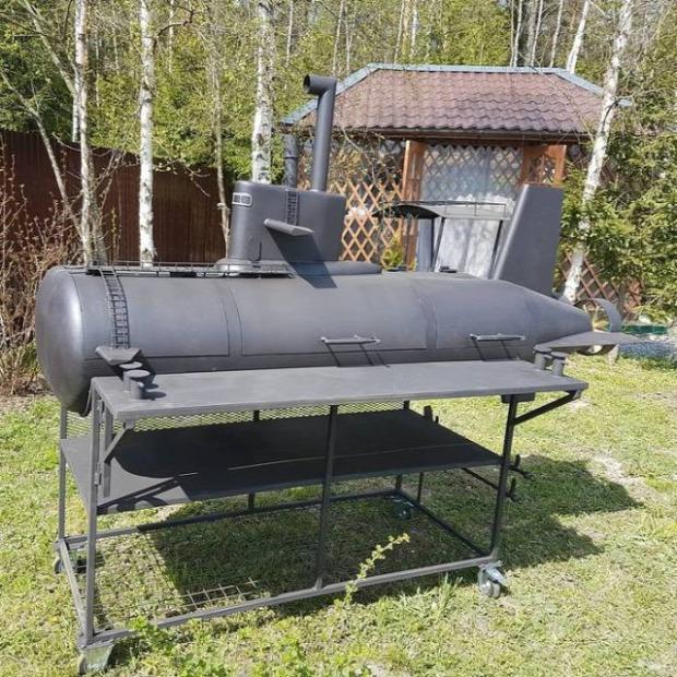 dizájn grill kert sütő tengeralattjáró