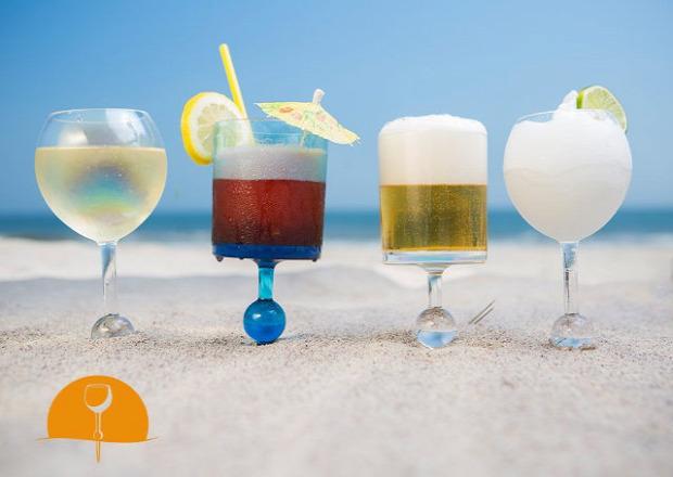 dizájn pohár strand