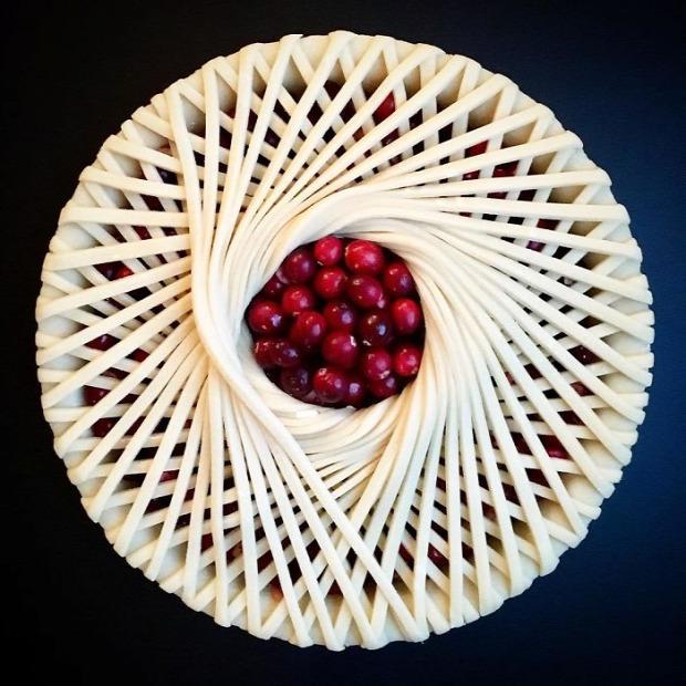 dizájn pite sütemény