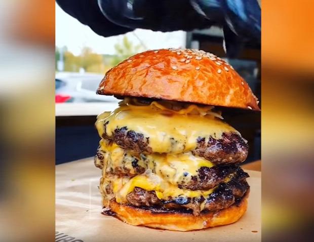 hamburger burger