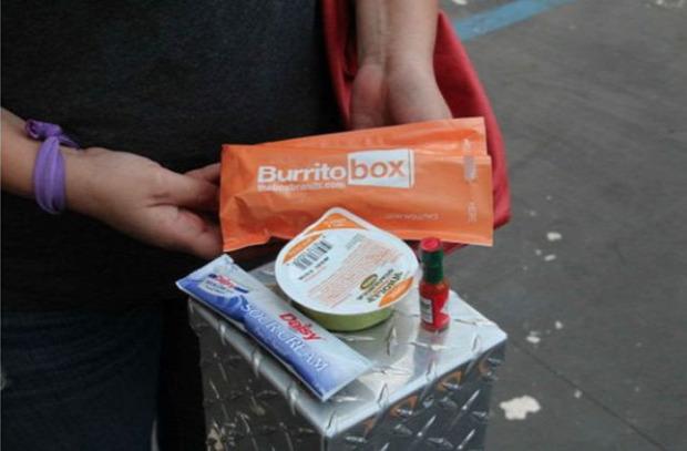 Dizájn automata burrito