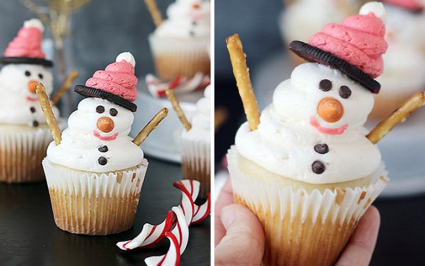 dizájn karácsony muffin