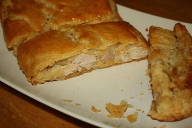 recept főétel melegétel hidegétel tészta levelestészta csirka