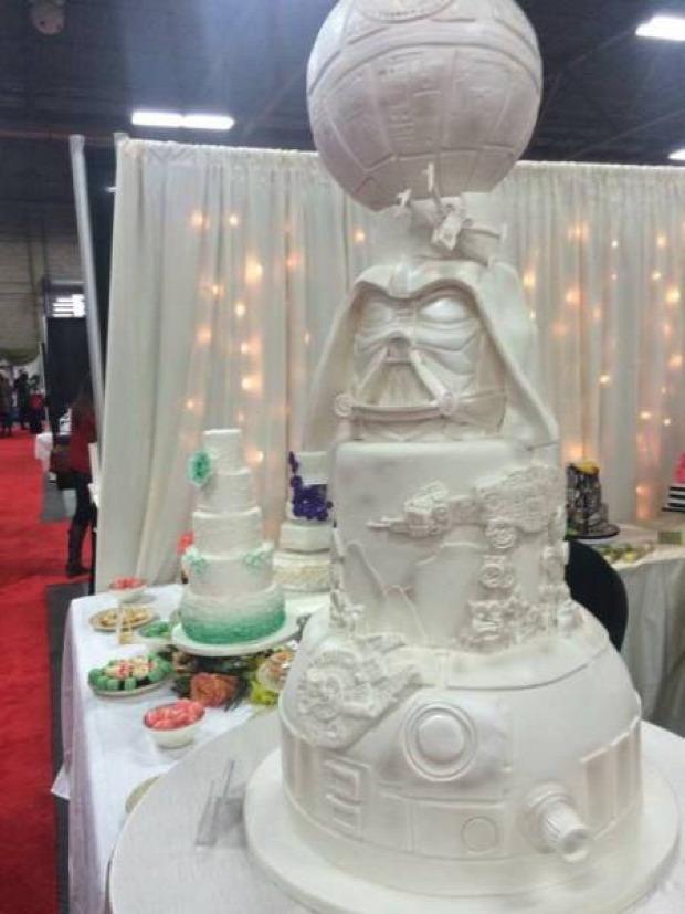 Hétvégi dizájn torta Star Wars