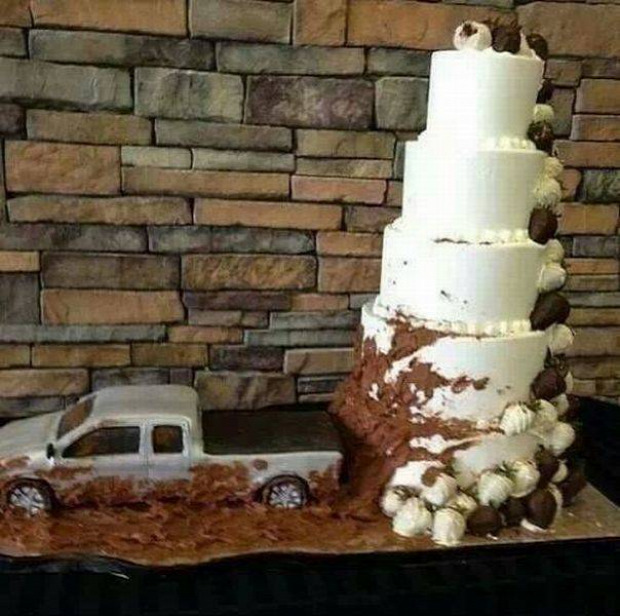 Hétvégi dizájn torta