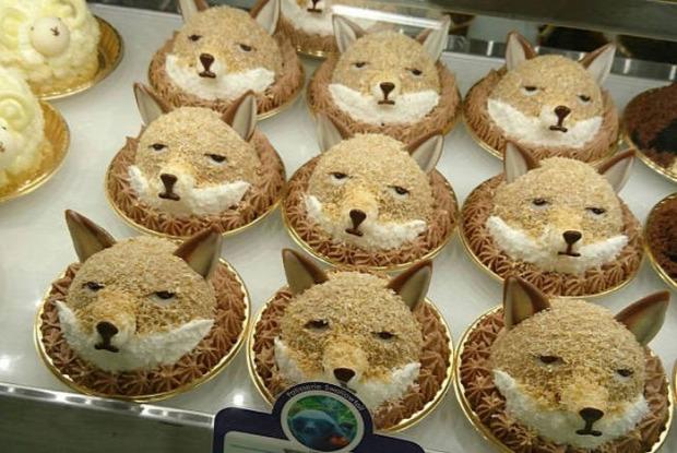 hétvégi dizájn róka muffin