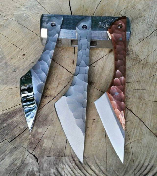 kés kovácsolt Hétvégi dizájn