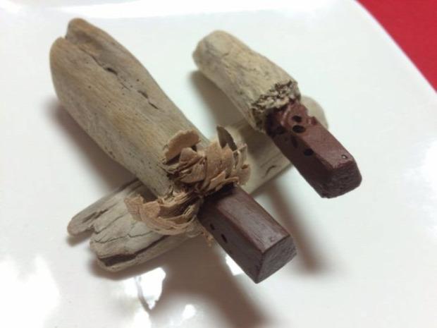 dizájn szobor étel fa japán