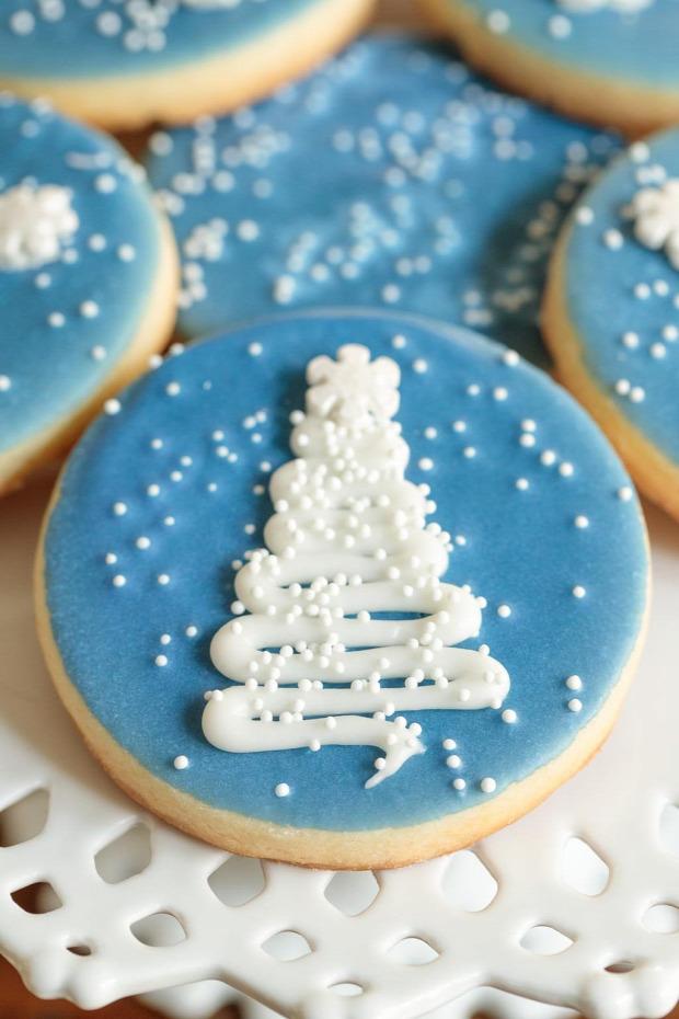 karácsony süti keksz dizájn