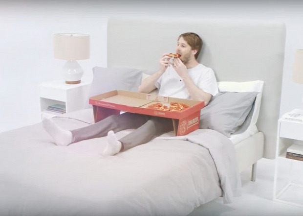 Hétvégi dizájn pizza doboz