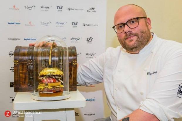dizájn hamburger legdrágább hollandia arany