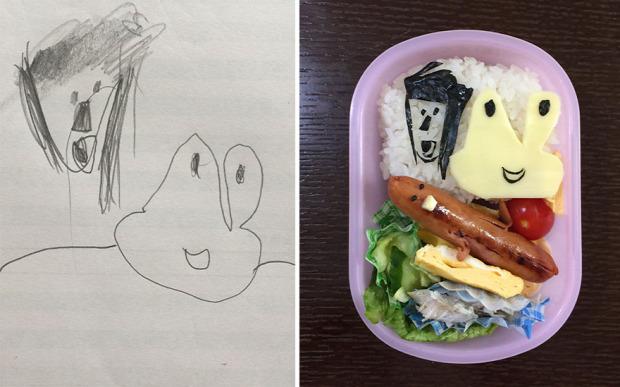 dizájn ebéd gyerekrajz