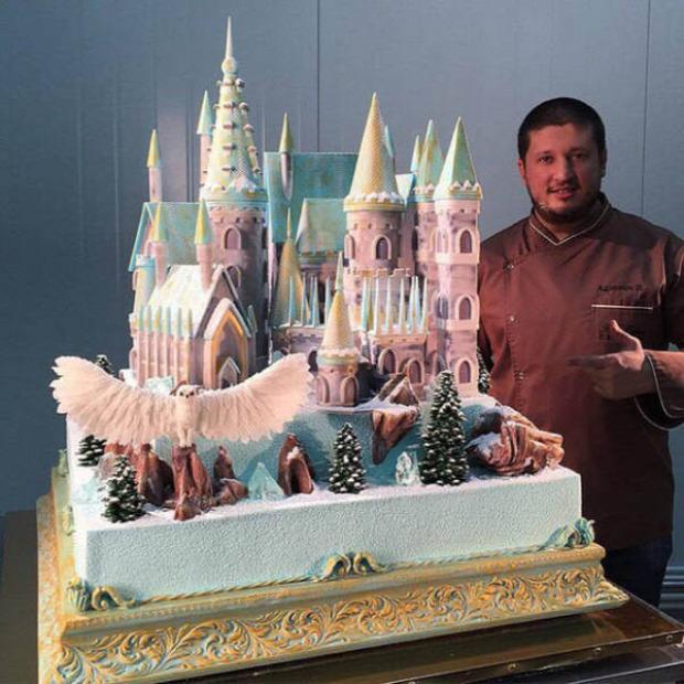 Hétvégi dizájn torta kastély Disney
