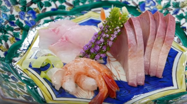 videó gasztro japán hal tengeri feldolgozás konyha