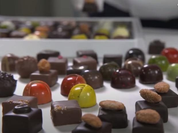 édesség csoki üzem manufaktúra videó