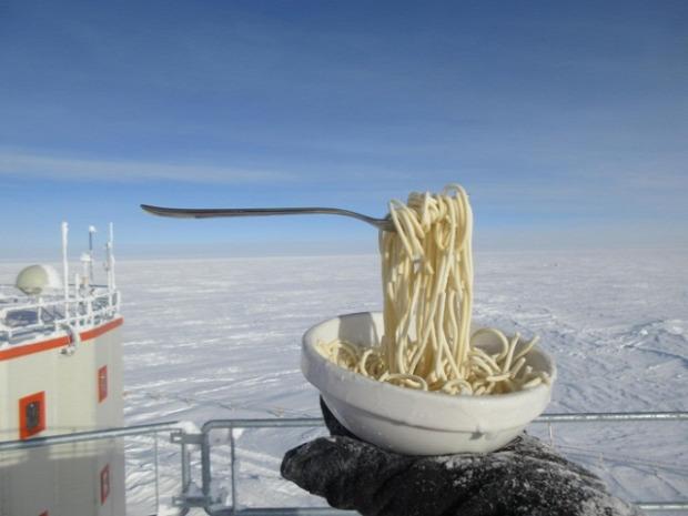 Antarktisz hideg étel