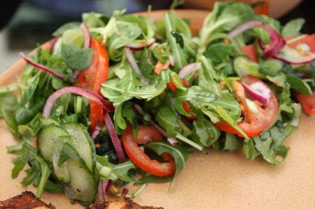 recept köret hidegétel saláta ecetes