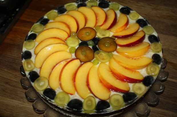recept sütemény torta gyümölcs túró