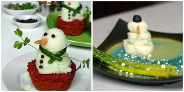 dekoráció ünnepi díszítés étel