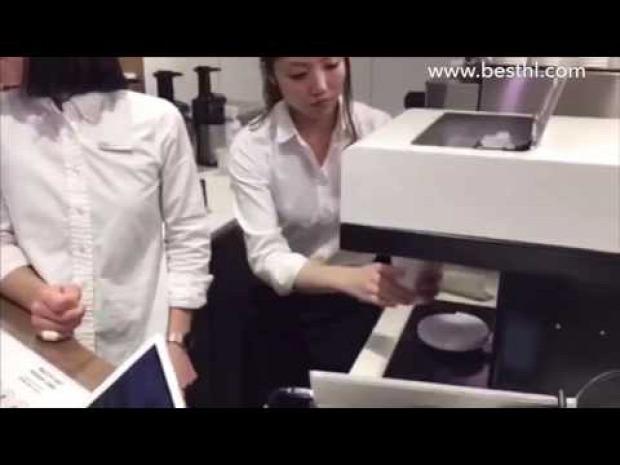 kávé tejhab kép portré printer