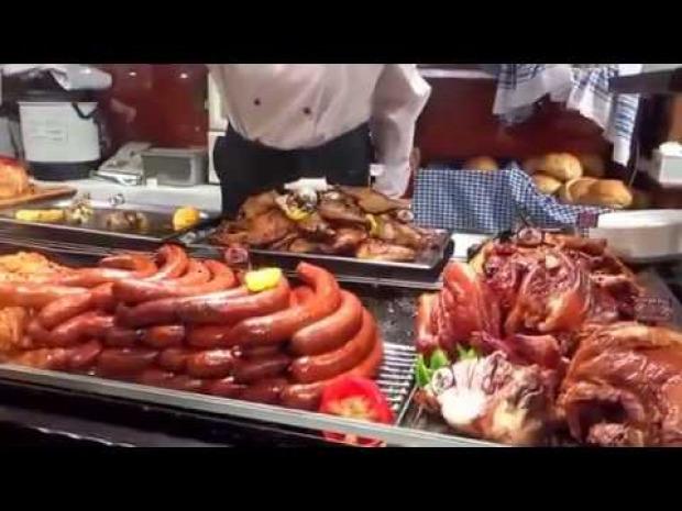 videó street food Budapest
