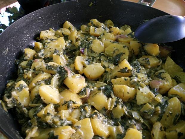 recept főétel köret egytálétel melegétel burgonya speót juhtúró