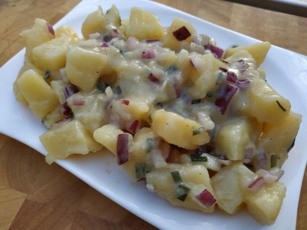 recept köret saláta bécsi krumpli burgonya
