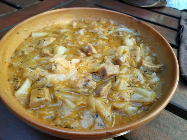 recept főétel melegétel egytálétel káposzta hús Erdély