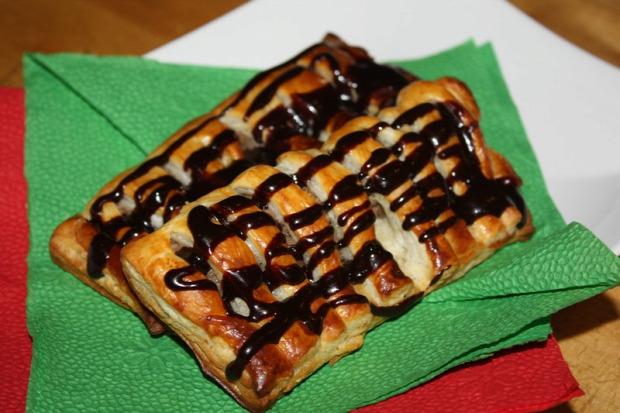 recept tészta édesség levelestészta gesztenye csoki