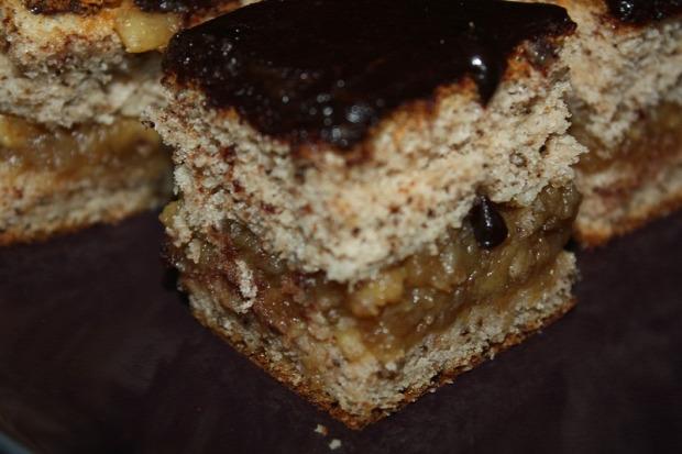 recept tészta sütemény alma dió csoki