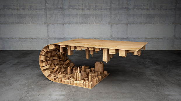 hétvégi dizájn asztal eredet álom világ