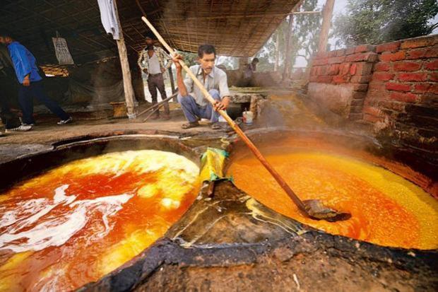 videó jaggery ázsia cukor tradicionális