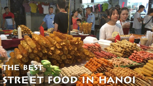 Street Food videó vietnám Hanoi