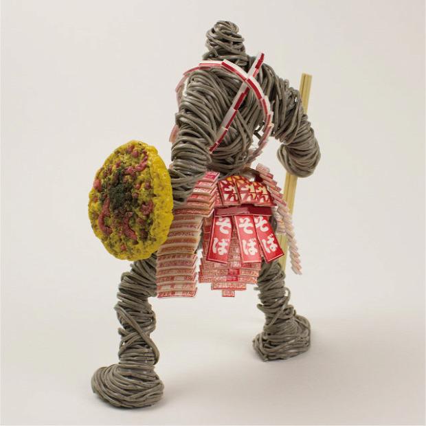 dizájn tészta japán Taishi Arimura ramen soba udon