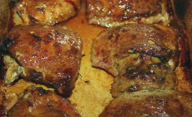 recept főétel húsétel melegétel sertés karaj padlizsán vienetta