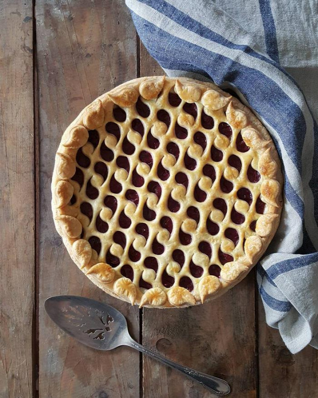 dizájn sütemény pite