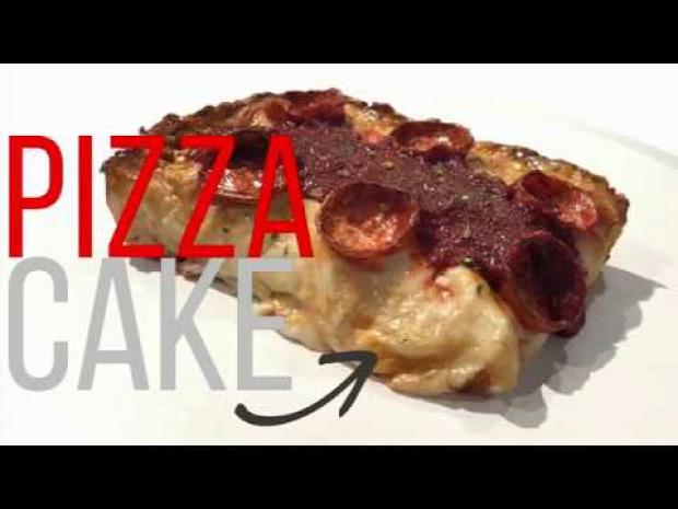videó pizza sütemény készítés cukrász szobrász