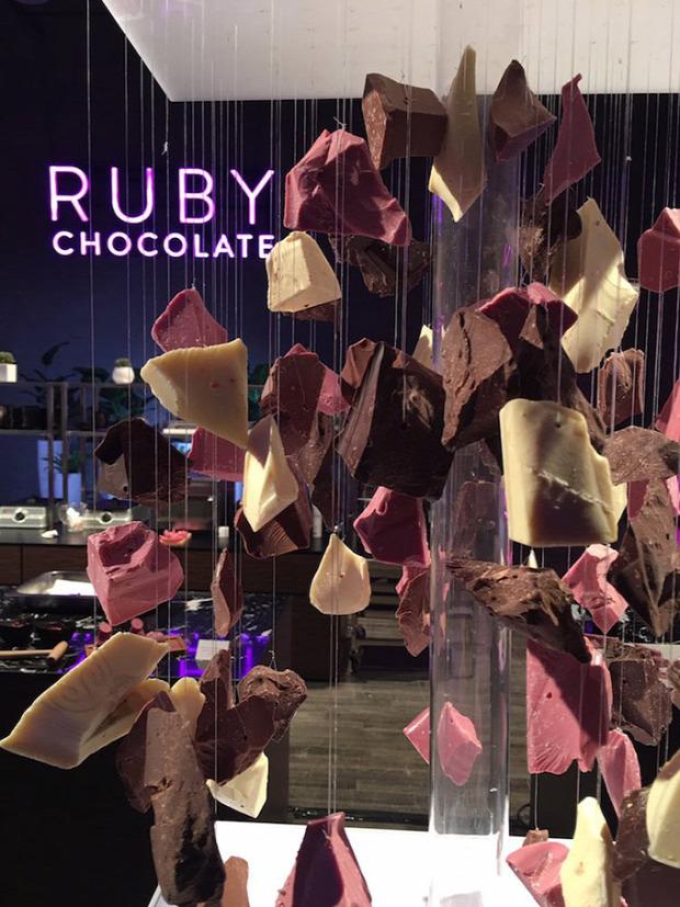 dizájn csokoládé rubin