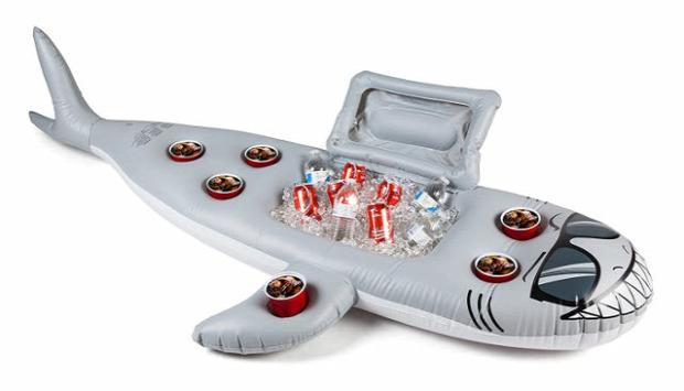 hétvégi dizájn cápa strand
