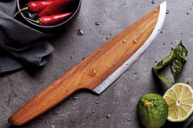 Hétvégi dizájn kés séf chef fa