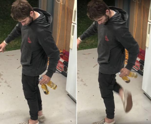 videó sör nyitás