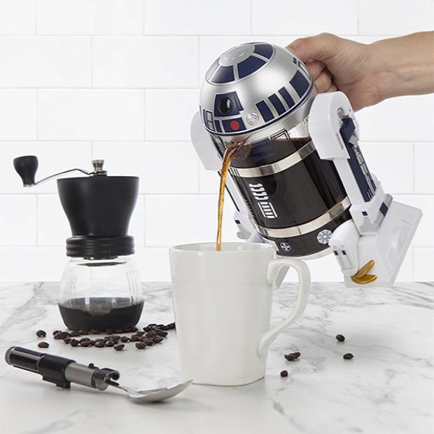 Hétvégi dizájn R2-D2 Star Wars SW kávéfőző
