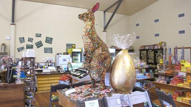 dizájn kenguru cukorka húsvét