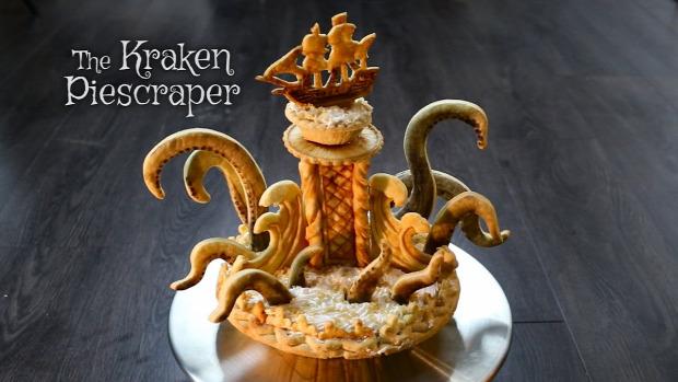 videó sütemény szörny Kraken