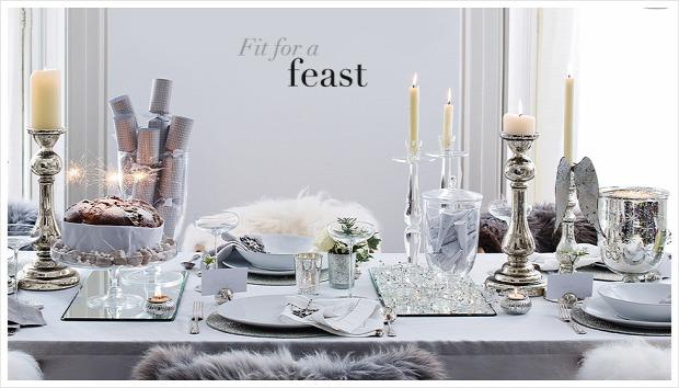 Hétvégi dizájn karácsony asztal terítés teríték