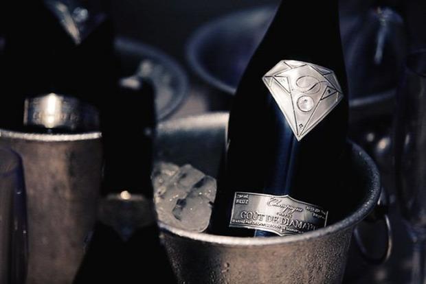 Dizájn pezsgő legdrágább