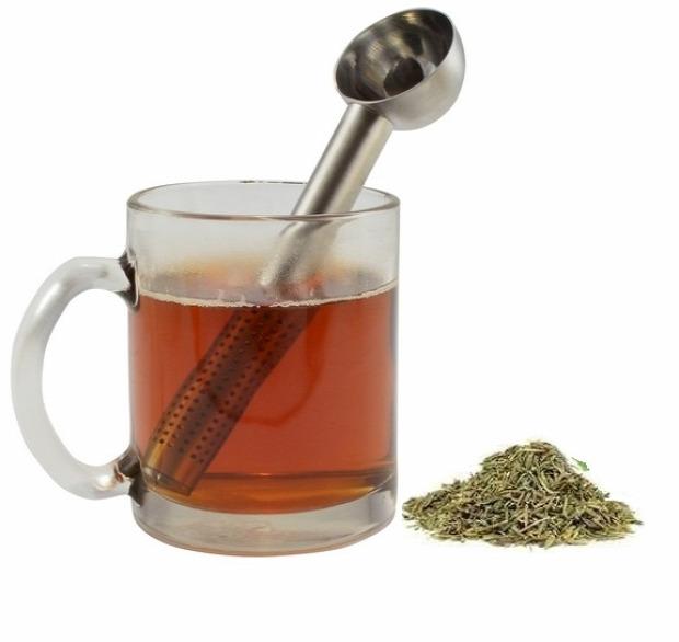 Hétvégi dizájn teapálca kanál