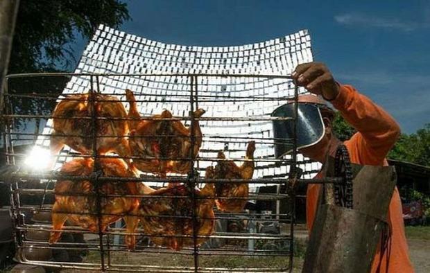 dizájn sütő napenergia solár csirke