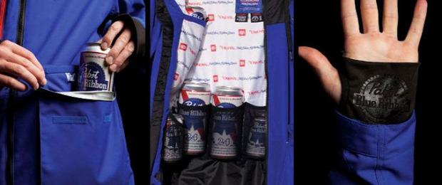 hétvégi dizájn kabát sör