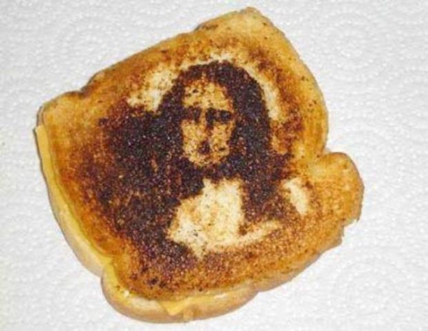 dizájn művészet piritós kenyér sütés
